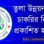 Cotton Development Board Job Circular
