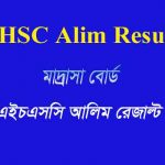 HSC Alim Result 2020 Madrasah Education Board