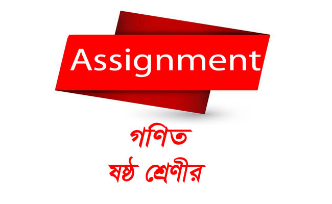 Class 6 Assignment Math With Answer