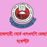 Rajshahi Board SSC Result 2021 With Mark sheet